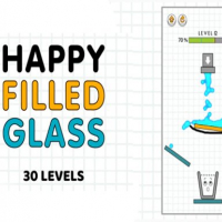 Happy Filled Glass: online