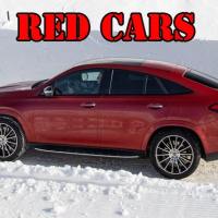 Red GLE Coupe Cars Puzzle